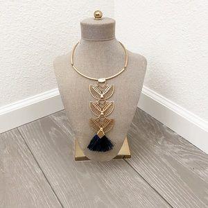 Aida Tassle Pendant Necklace